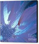 Flower Blue II Canvas Print by LCS Art