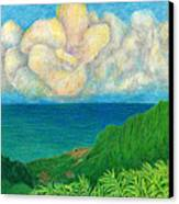 Flower Cloud Canvas Print