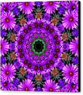 Flower Power Canvas Print by Kristie  Bonnewell