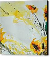 Flower Power- Sunflower Canvas Print