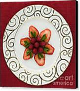 Flowering Fruits Canvas Print