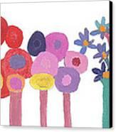 Flowers 1 Canvas Print by Don Larison