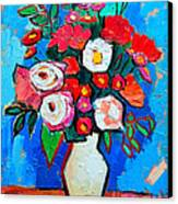 Flowers And Colors Canvas Print by Ana Maria Edulescu