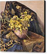 Flowers Immorteles Canvas Print by Meruzhan Khachatryan