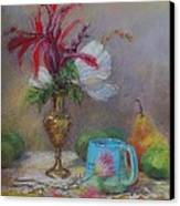 Flowers  Canvas Print by Nancy Stutes
