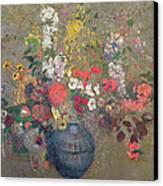 Flowers Canvas Print by Odilon Redon