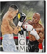 Floyd Mayweather Canvas Print