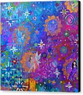 Fly Away To Fairy Day Canvas Print