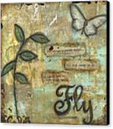 Fly Canvas Print by Shawn Petite