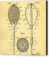 Flynn Merion Golf Club Wicker Baskets Patent Art 1916 Canvas Print