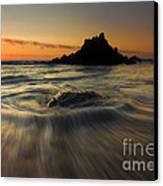 Fogarty Creek Sunset Canvas Print