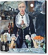 Folies Bergere Revisited Canvas Print