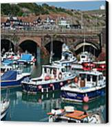 Folkestone Canvas Print by Ivelin Donchev