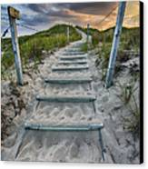 Follow The Path Canvas Print by Sebastian Musial