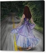 Follow Your Path Canvas Print