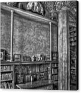 Fonthill Castle Library Canvas Print by Susan Candelario
