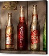 Food - Beverage - Favorite Soda Canvas Print by Mike Savad