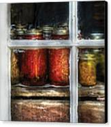 Food - Country Preserves  Canvas Print by Mike Savad