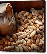 Food - Peanuts  Canvas Print by Mike Savad