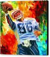 Football II Canvas Print by Lourry Legarde