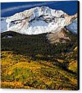 Foothills Of Gold Canvas Print