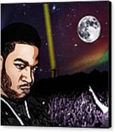 For Even In Hell - Kid Cudi Canvas Print