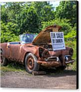For Sale By Owner Canvas Print by Rick Kuperberg Sr