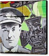 For Valour Canvas Print by Chris Dutton