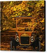 Ford Canvas Print by Jack Zulli