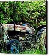Fordson Major Diesel Canvas Print by Robert J Andler