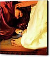 Forgiven Canvas Print by Jennifer Page