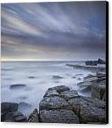 Forresters Beach Sunrise 1 Canvas Print by Steve Caldwell