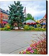 Fort Collins Fall Canvas Print by Baywest Imaging