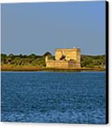 Fort Matanzas - Saint Augustine Florida Canvas Print by Christine Till