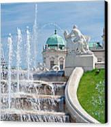 Fountain Cascades Canvas Print by Viacheslav Savitskiy