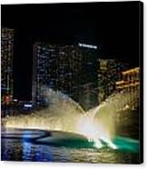 Fountain Spray Canvas Print