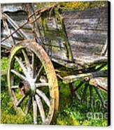 Four Wheels But No Horse Canvas Print by Heiko Koehrer-Wagner