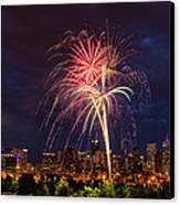 Fourth Of July Canvas Print by John K Sampson