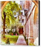 Fourth Presbyterian - A Chicago Sanctuary Canvas Print by Christine Till