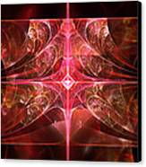 Fractal - Abstract - The Essecence Of Simplicity Canvas Print