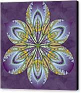Fractal Blossom Canvas Print by Derek Gedney