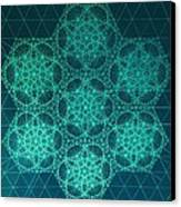 Fractal Interference Canvas Print by Jason Padgett