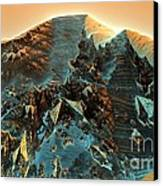 Fractal Moutain Canvas Print