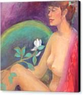 Fragrance Of A Dream Canvas Print by Gwen Carroll
