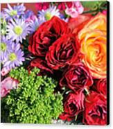 Fragrant Bouquet Canvas Print by Paulette Maffucci