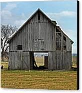Framed Barn Canvas Print by Steven  Michael