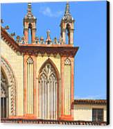 Franciscan Monastery In Nice France Canvas Print by Ben and Raisa Gertsberg