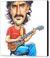 Frank Zappa Canvas Print by Art