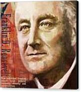 Franklin D. Roosevelt Canvas Print