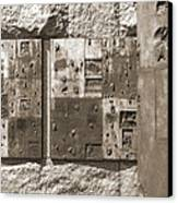 Franklin Delano Roosevelt Memorial - Bits And Pieces 2 Canvas Print by Mike McGlothlen